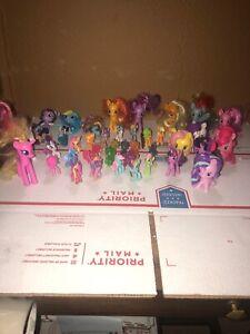Huge Mlp My Little Pony Lot Of 40 Figures Ebay