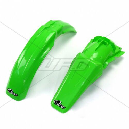 UFO Front Rear Fender Kit Kawasaki KX 125 250 1999-20 Green OEM