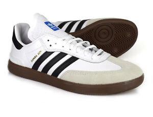 Adidas Skateboarding Samba ADV Skate Shoes Core BlackFootwear WhiteGum 5