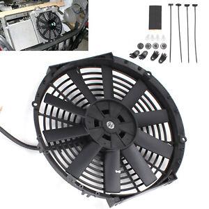 12-034-Universal-Recto-De-Refrigeracion-Ventilador-Del-Radiador-Kit-de-coche-electrico-de-hoja