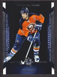 2004-05-Ultimate-Collection-Hockey-28-Michael-Peca-350-New-York-Islanders