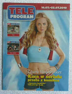 LAURA VANDERVOORT - polish magazine cover photo rare mag - Gniezno, Polska - LAURA VANDERVOORT - polish magazine cover photo rare mag - Gniezno, Polska