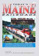 TODAY'S MAINE RAILROADS PENTREX NEW DVD VIDEO