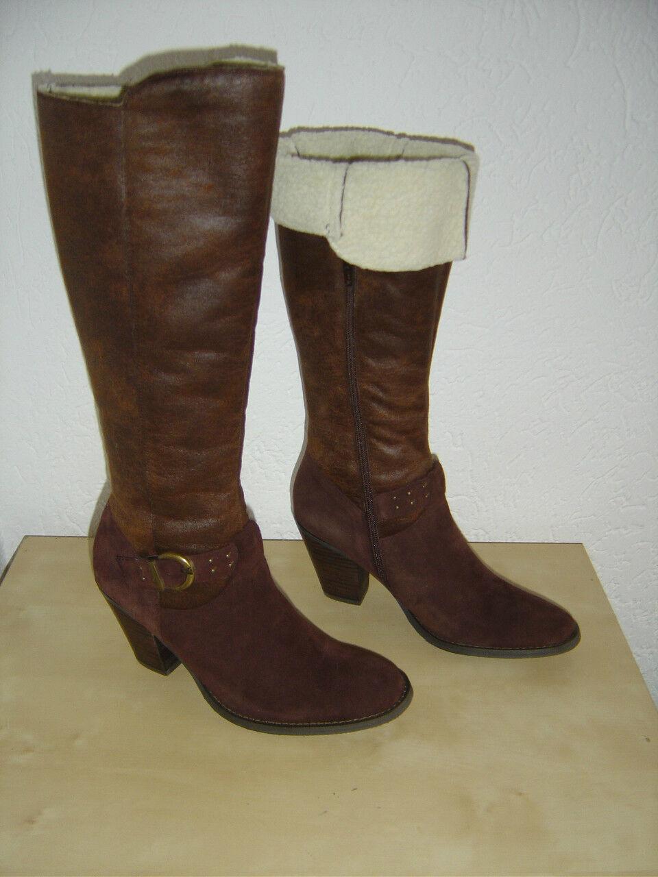 Zapatos especiales con descuento Original American Eagle Stiefel Boots Westernboots Dunkelbraun EUR Gr. 40 NEU