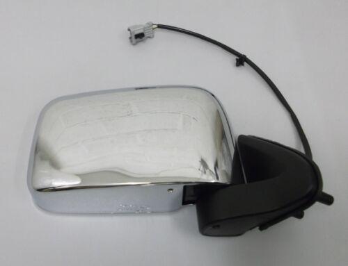 Door Mirror Chrome Electric R//H For Nissan Navara D22 Pick Up 2.5TD//2.5Di 98-06