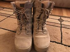 """5.11 TACTICAL ATAC 8/"""" SIDE-ZIP COYOTE DUTY BOOTS 12110"""