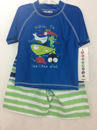 Wippette Baby Boys 2pc Swim Suit Wippette Sea Creatures