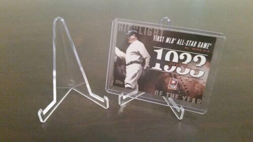 "~ 10 Marca Bcw 3-3//8/"" Tarjeta de béisbol Pequeño está parado Holder Display"