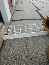 Wire Gondola Shelving Basket 48 Inches Used With Dividers Attached