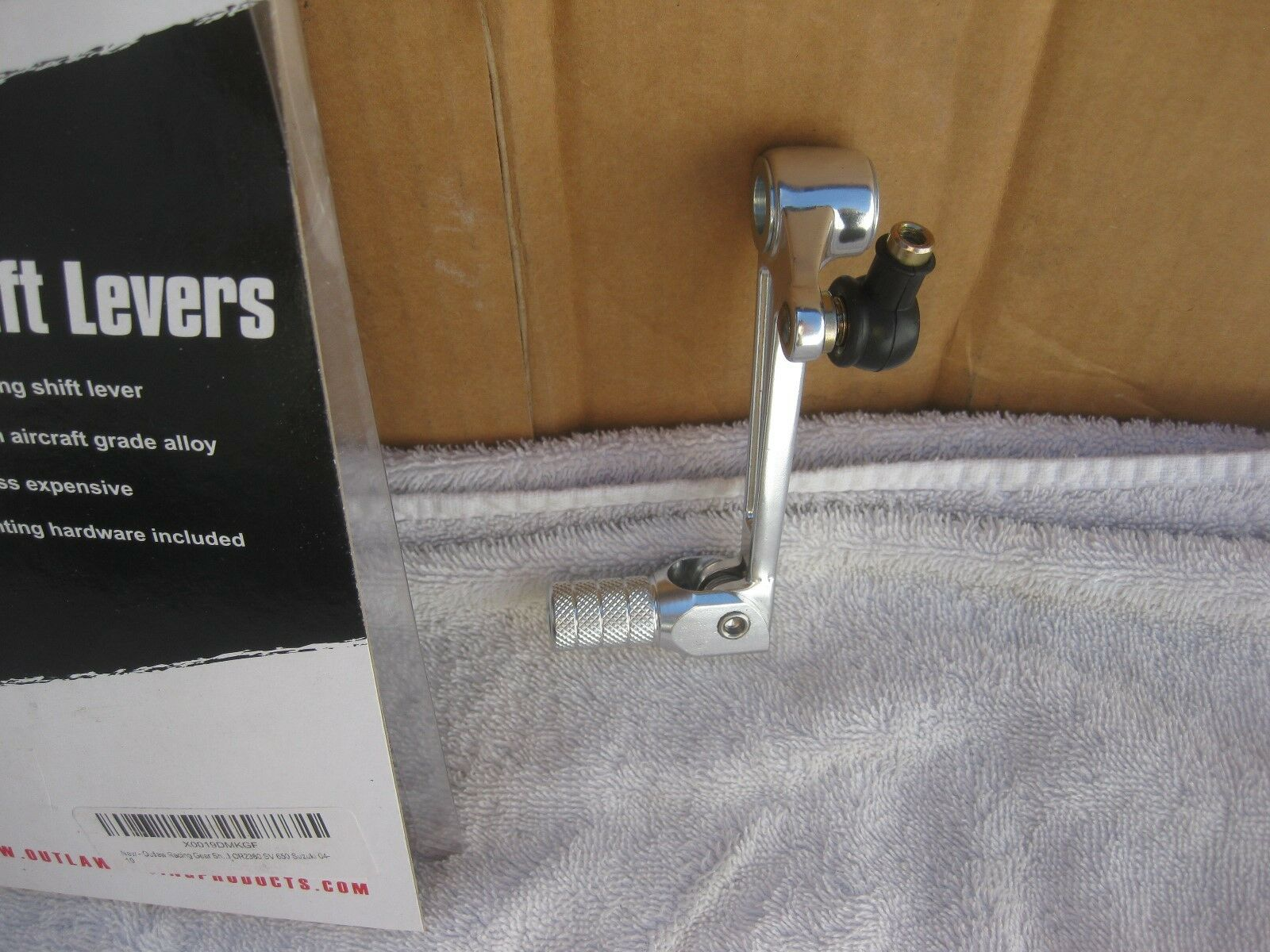 Outlaw Racing Gear Shifter Shift Lever Pedal OR2380 SV 650 Suzuki 04-10