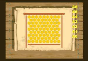 Honey-Comb-Stencil-350-micron-Mylar-not-thin-stuff-Honey01