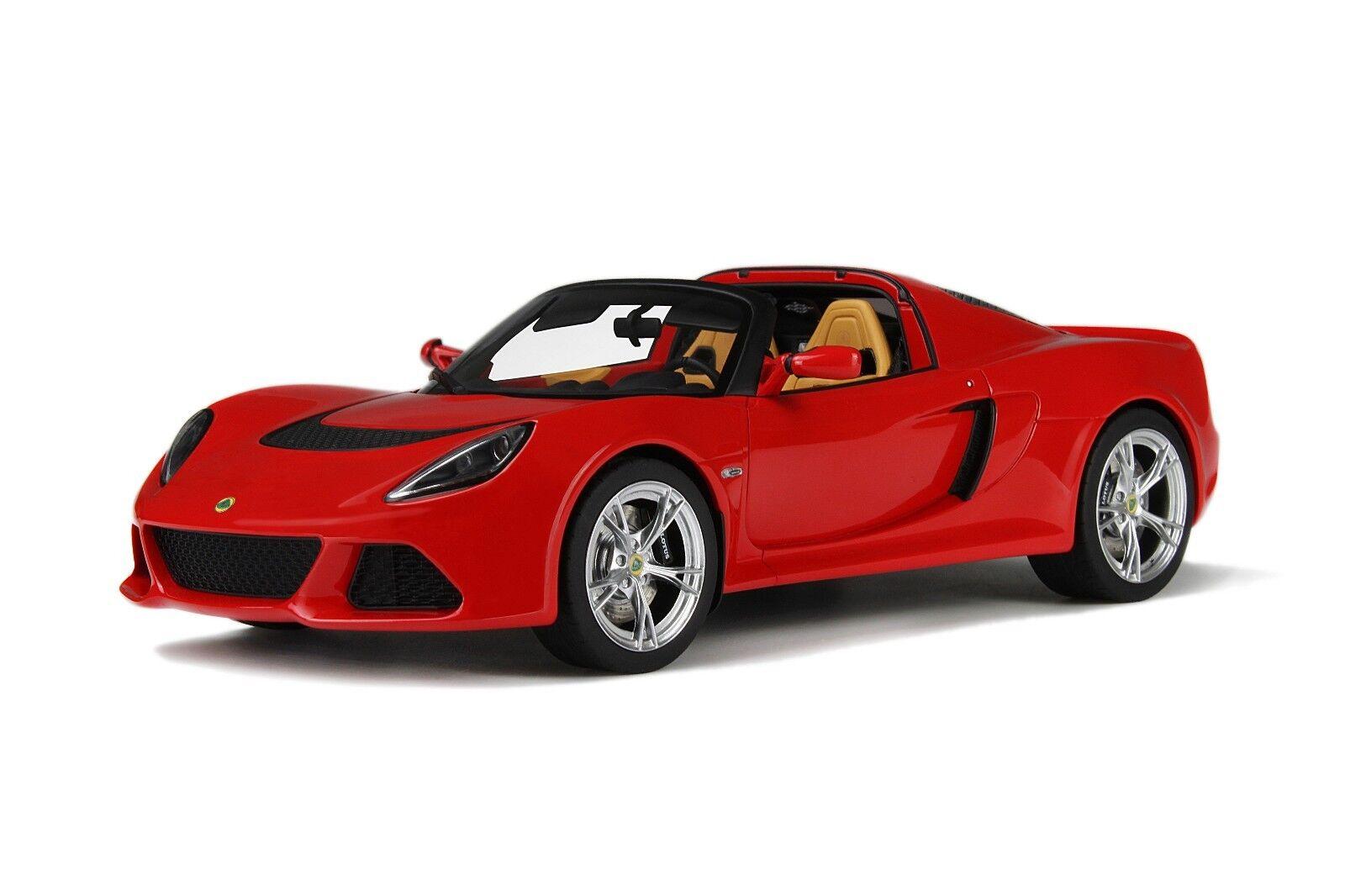 1 1 1 18 Gt Spirit GT043 Lotus Exige S3 Asador. Rojo ce8bda