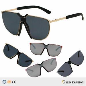 NEW-Large-AVIATOR-Sunglasses-Smoke-Lens-Men-039-s-Metal-Frame-Vintage-Retro-HOT-US