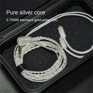 KZ-ZS3-Headset-3-5mm-Jack-Silver-Upgrade-Earphone-Cable-Detachable-Audio-Cord