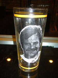 1976 RAY MANSFIELD PITTSBURGH STEELERS ARBY'S DRINKING GLASS