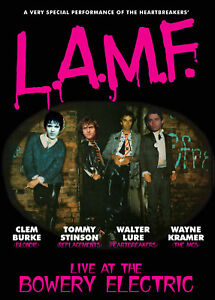 LURE-BURKE-STINSON-amp-KRAMER-039-L-A-M-F-Live-at-the-Bowery-Electric-039-DVD-Thunders