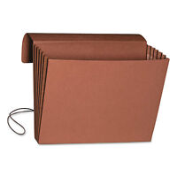 Smead 5 1/4 Accordion Expansion Wallet Legal 15 X 10 Redrope 10/box 71111 on sale