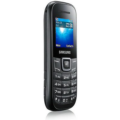 Samsung  Guru GT-E1200T - Black - Mobile Phone