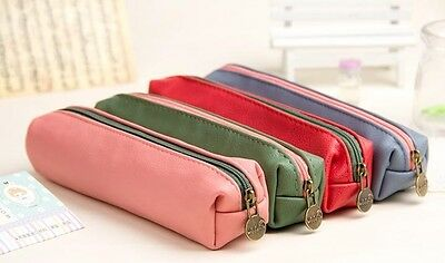Sun square cosmetic bag Students stationery pen bag pencil bags