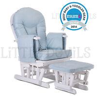 Sereno Natural Wood Or White Nursing Glider Maternity Rocking Chair SRP 299