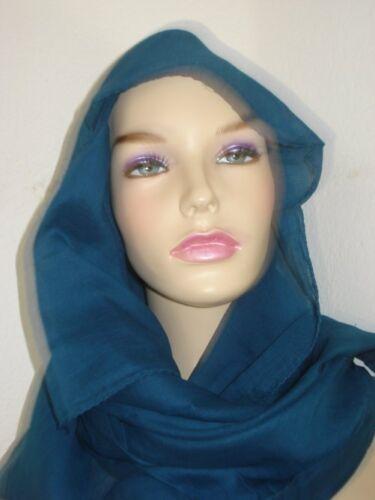 Baumwolltuch Kopftuch dunkelblau  uni 100x100cm Schultertuch Spieltuch Halstuch