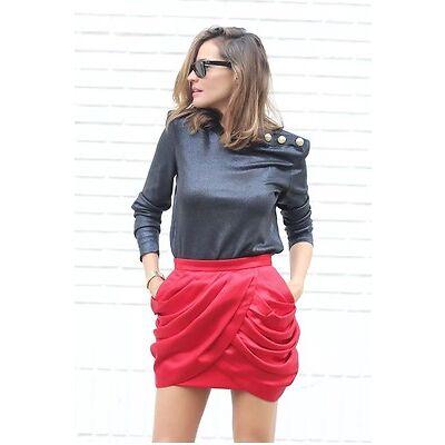 Balmain H&M Pullover Sweater Shimmery Shinny Metallic Neu New Sold Out S Eu 36