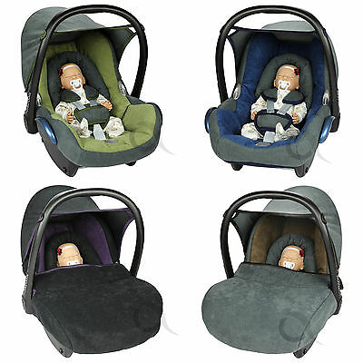 Replacement Seat Cover fits Maxi-Cosi CabrioFix Group 0 drk grey//pink grey SM star Infant Carrier FULL set COTTON