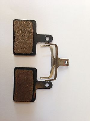 1-2 Pairs Semi Metal Resin Disc Brake Pads for Tektro Draco Dorado Orion