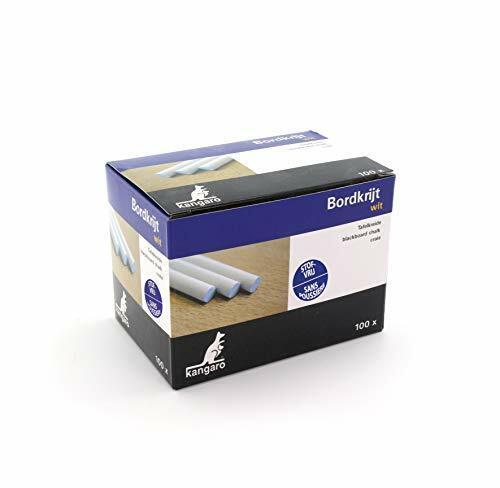 Tafelkreide Kangaro weiss Box 100St Weiß PT005