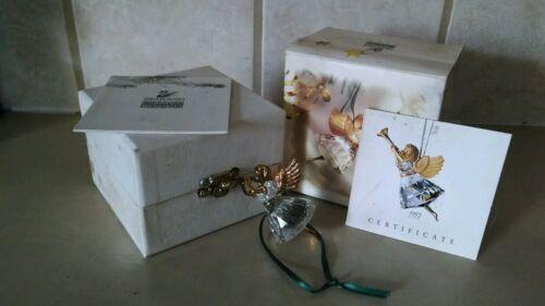 Swarovski 1997 Limited Edition Angel Ornament with Trumpet 211085