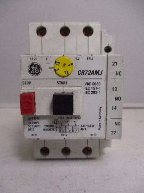 GE CR72AMJ CR72AXA11 LOT OF 5