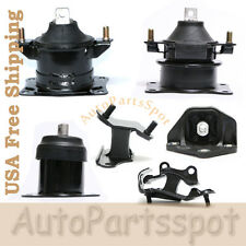 For 2003-2007 Honda Accord 3.0L Engine Motor & Trans Mount Set 6 AT Trans G113