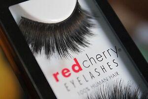 Red-Cherry-GIOVANNA-304-falsche-unechte-kuenstliche-Echthaar-Wimpern-strip-lash
