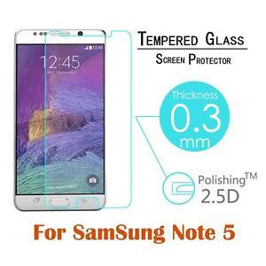 3x Verre Trempé Film De Protection écran Pour Samsung Galaxy Note 5 (3-pack) Neuf-afficher Le Titre D'origine à Vendre