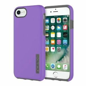 Incipio Dualpro Phone Case Iphone 6 Iphone 6s Purple Gray Shock Absorbent Ebay