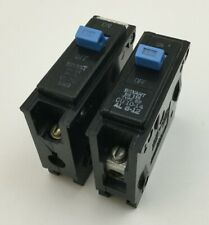 Bryant BR115 15 Amp 1 120 Volt LOT OF 10 1 Pole Circuit Breaker- WARRANTY
