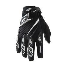 O'neal Sniper Elite MTB DH FR Mountain Bike Full Finger Glove Black Small