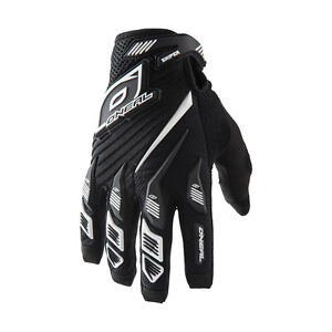 O/'neal Jump MTB DH FR Mountain Bike Full Finger Glove Crank Black//Multi Size XL