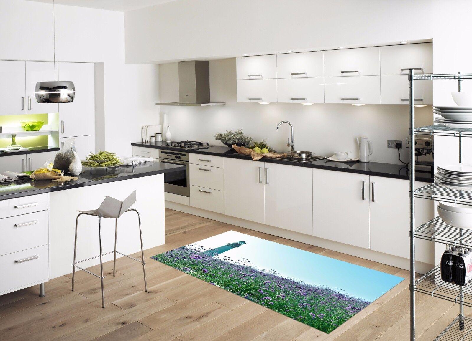 3D Fiori cucina di Cielo 733 Tappetino da cucina Fiori pavimento ...