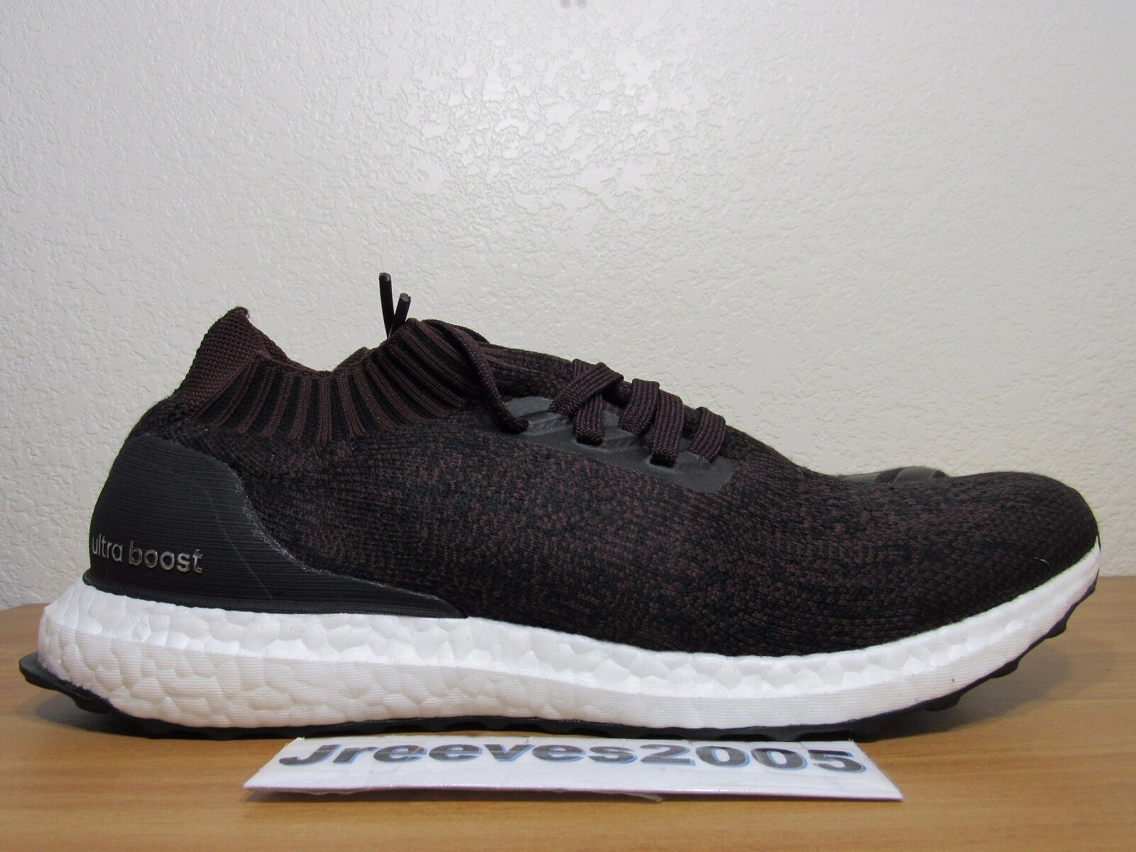 dd37ddd596e adidas Wool Ultra Boost Uncaged Dark Burgundy Red Sz 9 Ultraboost ...