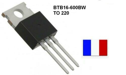 TRIAC BTB16-600BW TO 220 BTB16