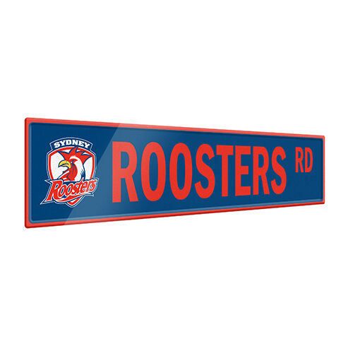 Sydney Roosters NRL Tin Street Sign **NRL OFFICIAL MERCHANDISE**