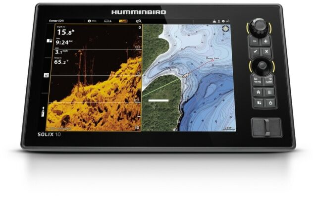 Humminbird 411090-1CHO Solix 10 Chirp DS/MDI+ GPS Gen2 CHO(control head only)NEW