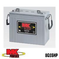Battery Mk 8g5shp 12v 125ah 20 Hr. Gel Deep Cycle Each