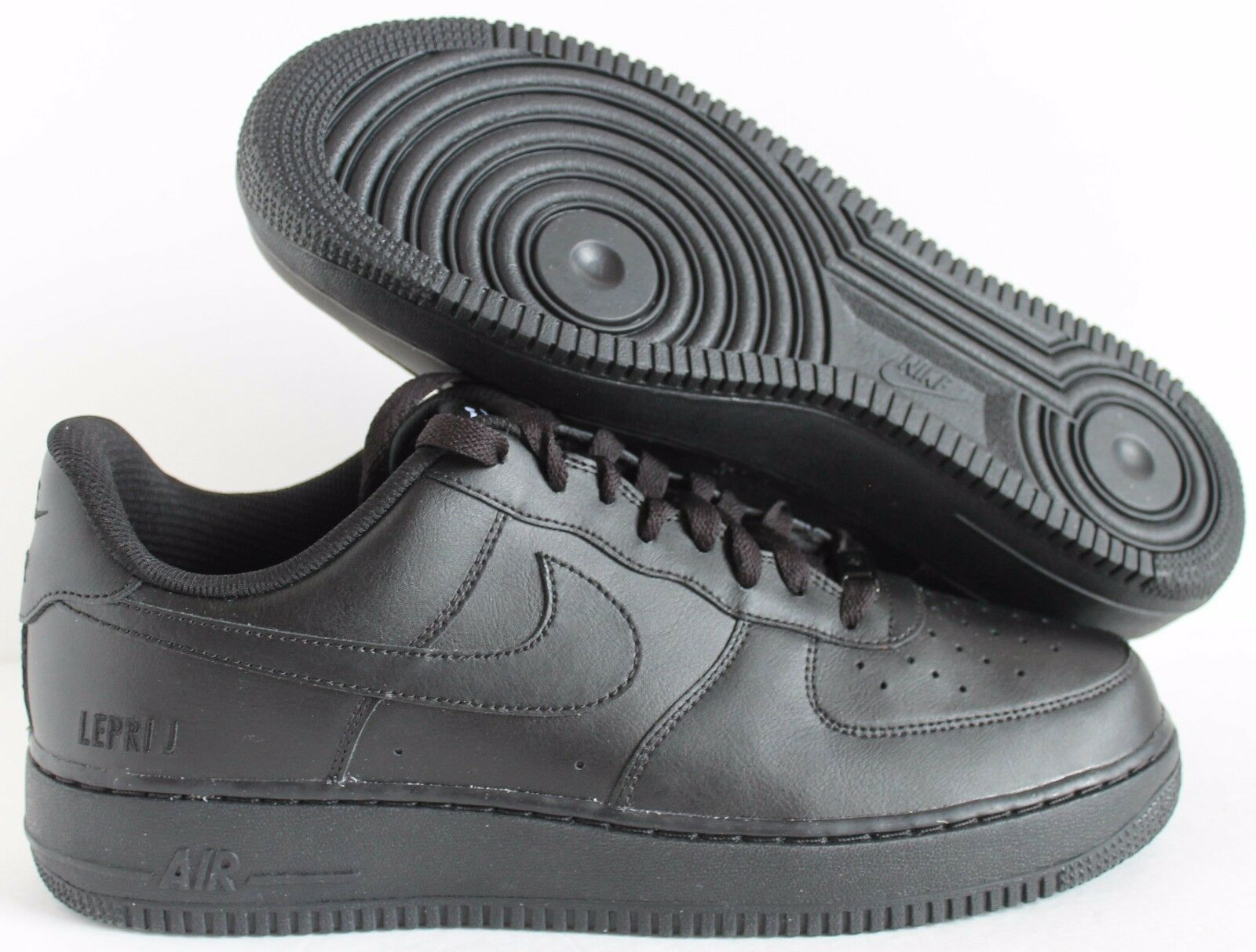 Nike Air Force 1 Low ID Black Duckboot SZ 12  [808791-993]