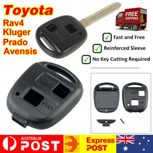 Key-Remote-Case-Shell-Blank-For-Toyota-RAV4-Prado-Tarago-Corolla-Kluger-Avensis
