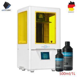 EU ANYCUBIC SLA PHOTON S Imprimante 3D Printer UV Lumière-Cure + 500ml/1L Résine