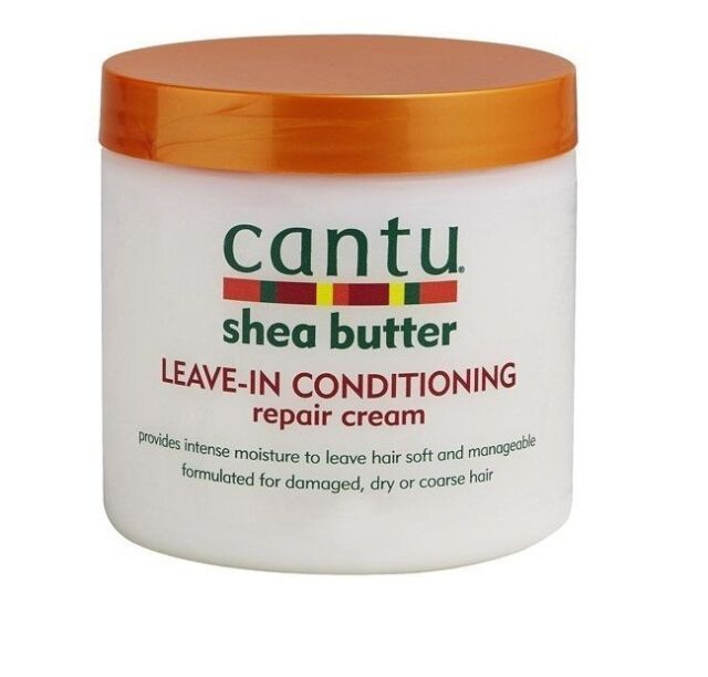 Cantu shea butter leave in conditioning repair cream 16Oz/ 453g