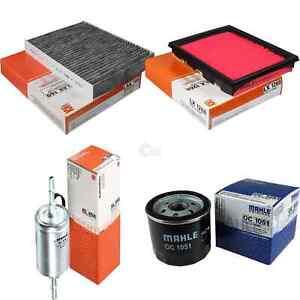 MAHLE Fuel Filter Kl 458 Interior Lak 169 Air LX 1268 Oil Filter Oc 1051