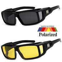 1 Pc Polarized Cover Put Over Sunglasses Wear Rx Glass Fit Driving Size Medium I